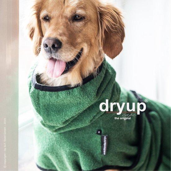 Dryup -Hondenbadjas- honden jas-badjas hond-Groen- M- ruglengte tot 60 cm