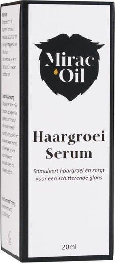 Haargroei Serum - Mirac'Oil - Haargroeimiddel - Glanzed haar - Haargroei Stimuleren - Haargroei - Baardgroei - Haarverzorging - Haarolie -