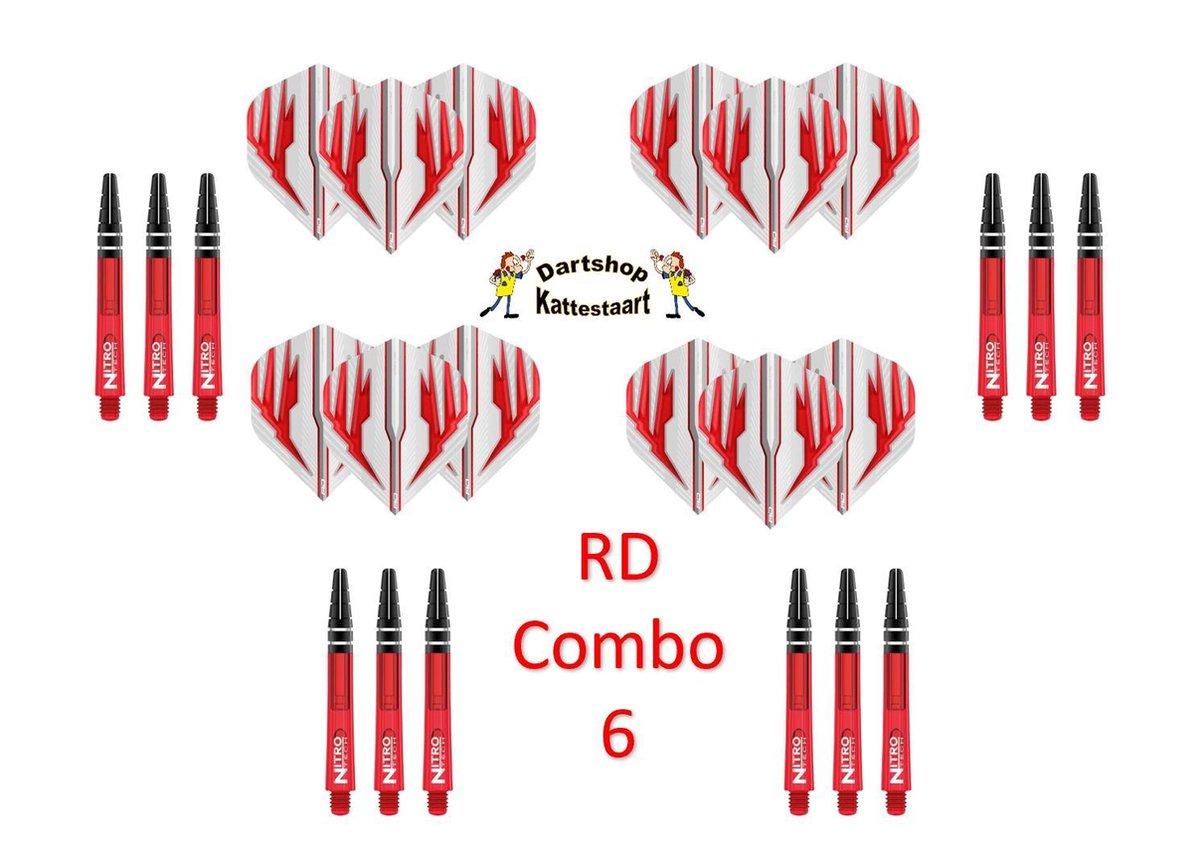 Red Dragon Flights & Shafts Combo 6