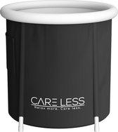 Care Less Opblaasbaar Zitbad voor volwassenen - Opvouwbare Badkuip - Inklapbaar - IJsbad - Zwart - Bath Bucket