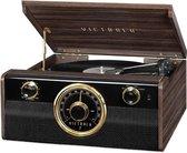 VICTROLA Muziek Center Muziek Center Vinyl-Radio-Bluetooth - Mahonie
