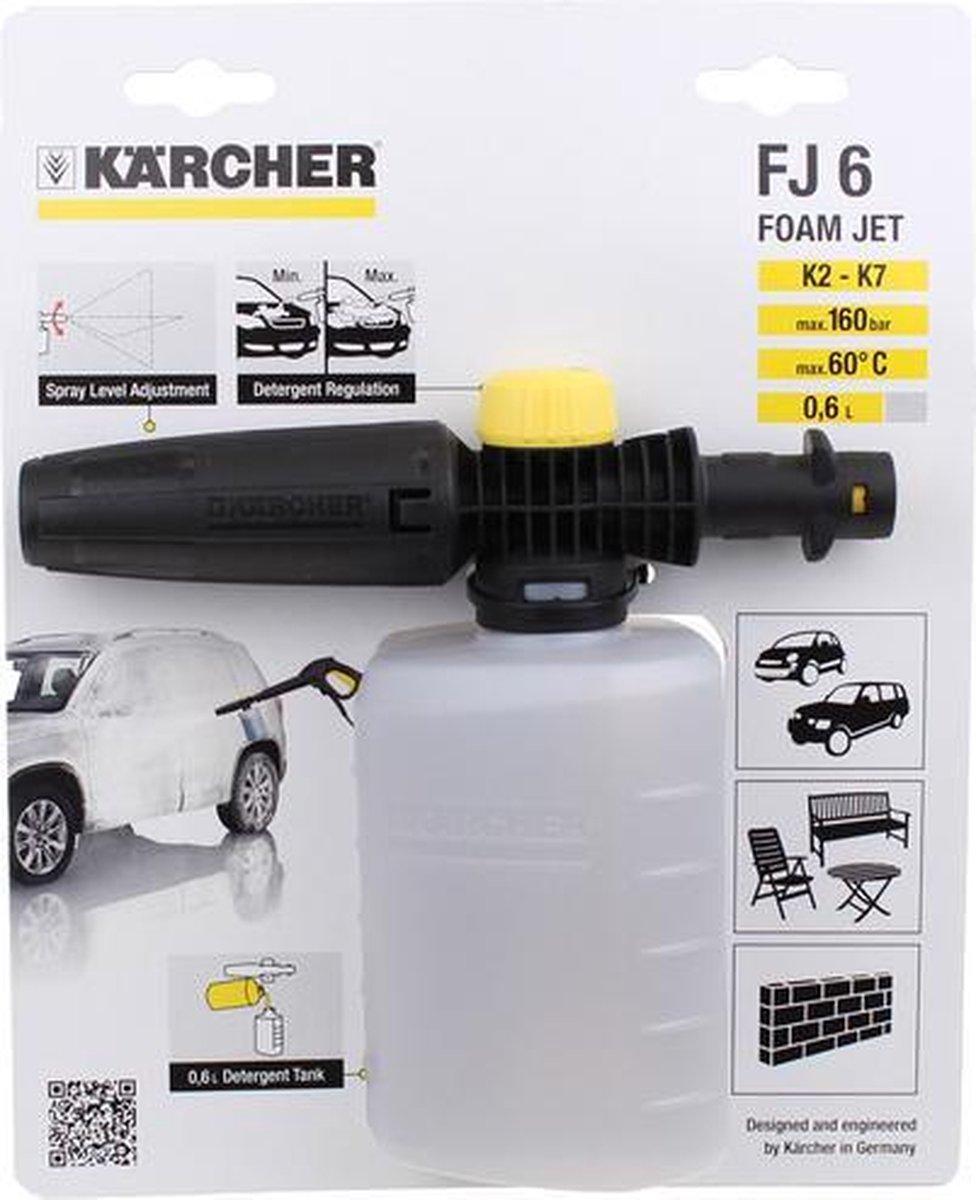 K rcher FJ 6 Foam Jet - regelbaar - 0,6 Liter - K2/K7 series