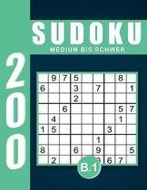 Sudoku Erwachsene Medium Bis Schwer Band 1
