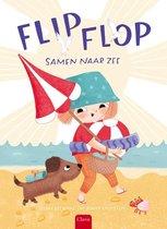 Flip, flop, samen naar zee