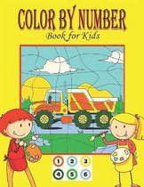 COLOR BY NUMBER Book for Kids