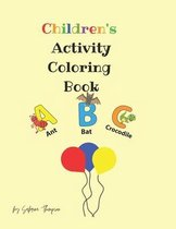Children's Activity Coloring Book