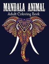 Mandala Animals An Adult Coloring Book