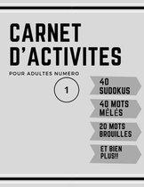 Carnet D'activites
