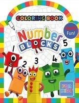 Numberblocks Coloring Book