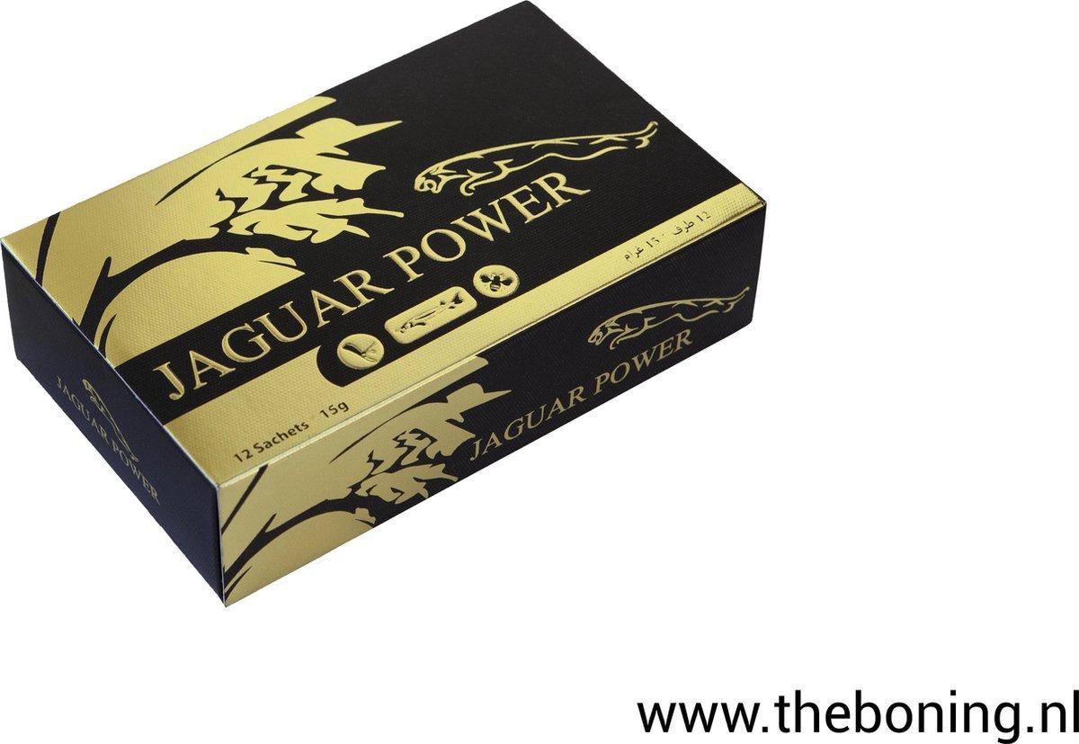 Jaguar Power - Jaguar Power 1Stick - super Food- Extreem Libido Verhogend Middel - 100% natuurlijk -