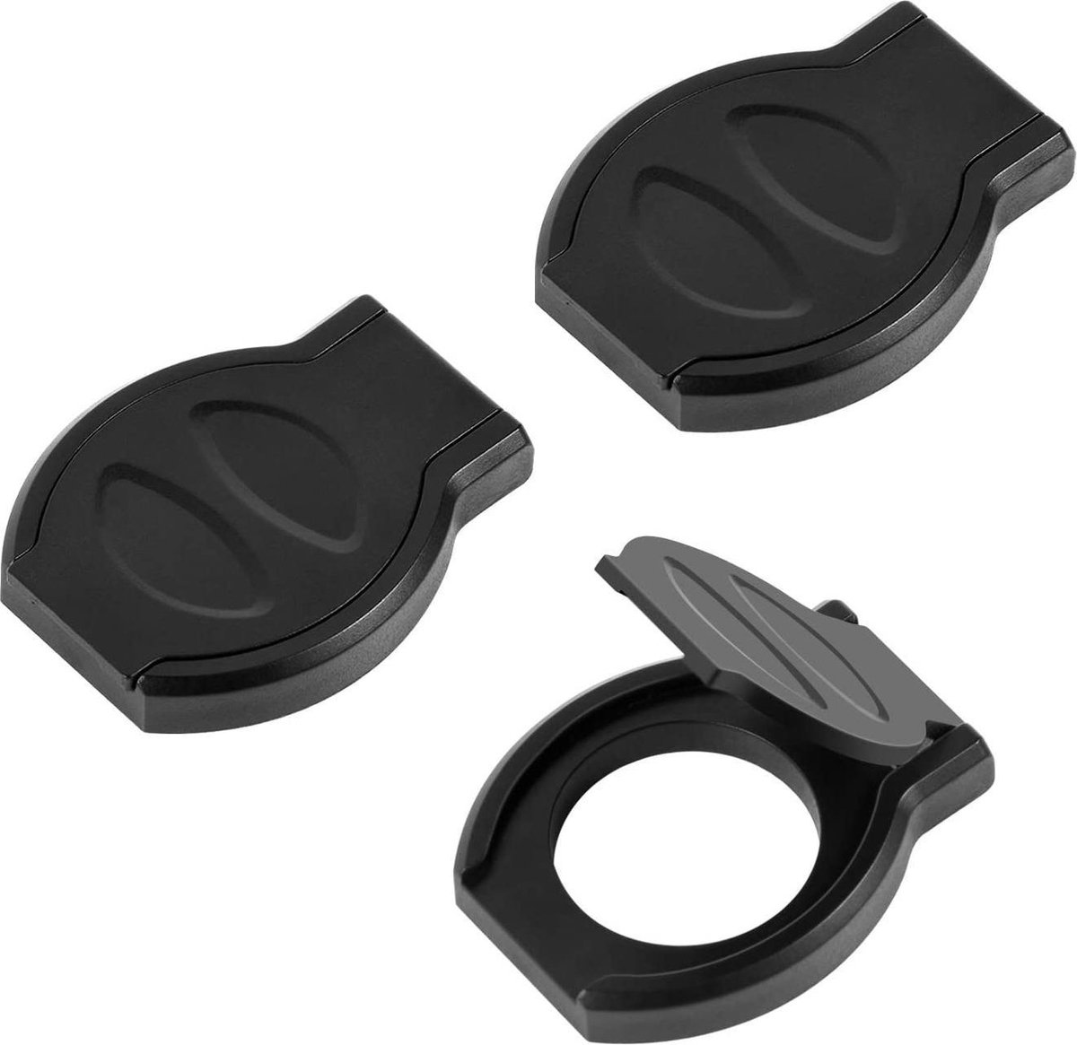 webcam cover - Dericam Webcam cover, three-piece webcam data protection lock with strong adhesive to protect the lens cover and protect the privacy and security of the HD camera.