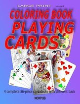 Playing Cards Coloring Book