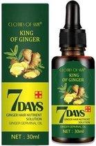 Haarserum 7days | Haarkuur 7daags | Haaruitval bestrijden | Gember extracten voor stimuleren haargroei | Haar olie | Bewezen formule