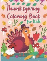Thanksgiving Coloring Book for Kids