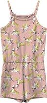 Name it Vigga Jumpsuit - Meisjes - roze - wit - geel
