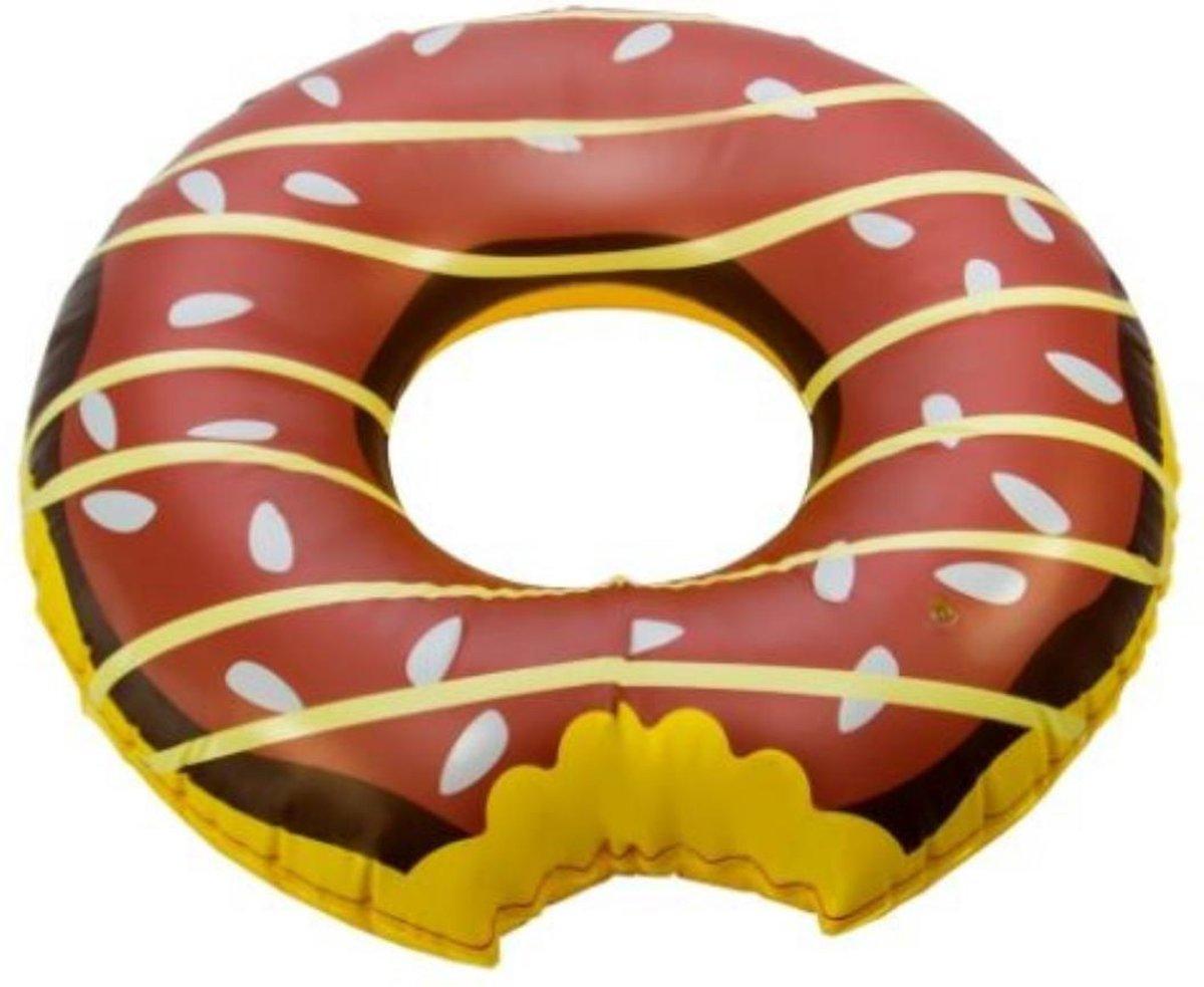 Imaginarium Opblaasbare Donut - Zwemband voor Kinderen - 105 cm - Met Reparatiekit