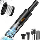 Bol.com-QuchiQ™ Kruimelzuiger draadloos - Kruimeldief - Auto stofzuiger - Handstofzuiger - Kleine stofzuiger - USB Oplaadbaar | Accu Stofzuiger (zwart)-aanbieding