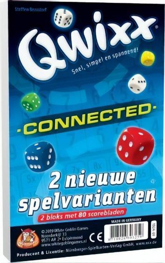 Afbeelding van het spel Qwixx Connected - Uitbreiding