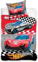 Hot Wheels Dekbedovertrek Sports Car - Eenpersoons - 140x200 cm - Multi