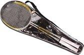 Badminton set met shuttle en draagtas - Stevige badmintonrackets - Badmintonset pro