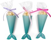 Zeemeermin traktatie box - mermaid candy box (10 stuks)