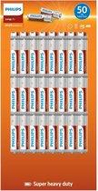 Philips Longlife Batterijen AA 50 stuks