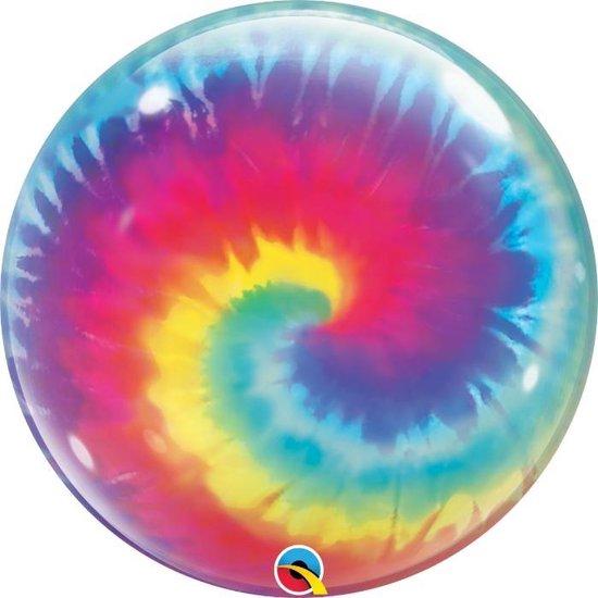 Bubbles ballon - Tie Dye Swirls