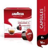 Lavazza  Espresso Cremoso Dolce Gusto Compatible 6 x 16 capsules