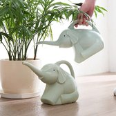 Olifant Vorm Gieter Pot Tuin Bloemen Planten Gieter Gereedschap Vetplanten Potplanten Tuinieren Water Fles- Groen
