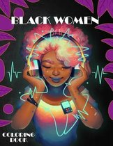 Black Woman Coloring Book