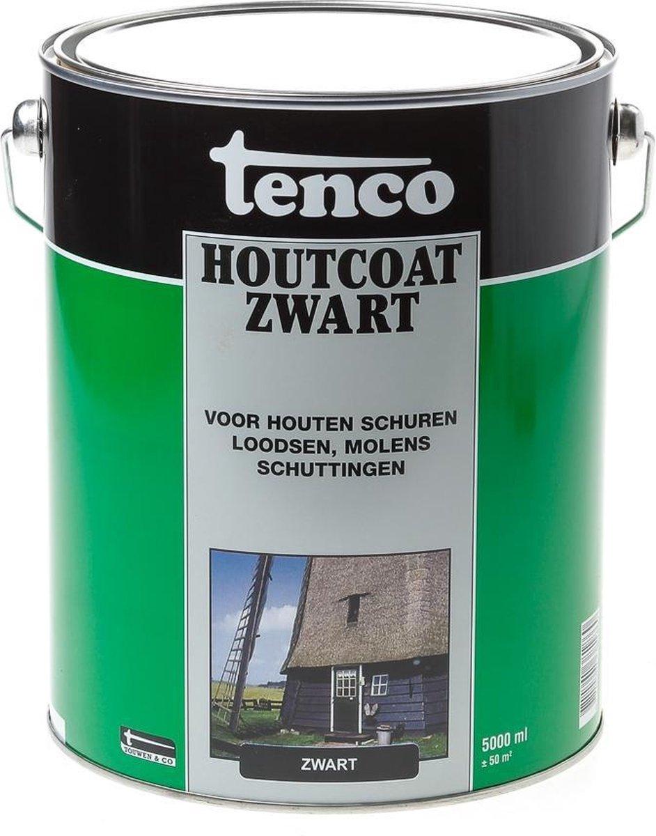 Tenco Houtcoating Zwart - 5 liter