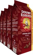 Douwe Egberts Aroma Rood Koffiebonen Voordeelpak - 4 x 1000 gram