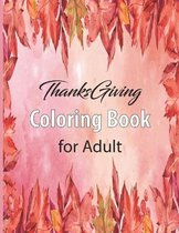Thanksgiving Coloring Book for Adult