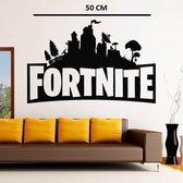 Fortnite muursticker - Fortnite poster - fortnite versiering - fortnite verjaardag - fortnite jongen - 50 cm x 40 cm - FORTNITE STAD