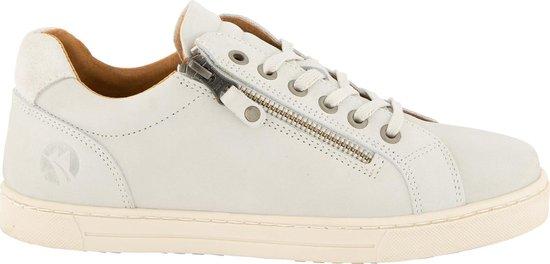 Travelin Roanne Nubuck – Casual dames sneakers – Wit – Maat 38