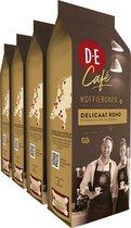Douwe Egberts D.E Café Delicaat Rond Koffiebonen  - 4 x 500 gram