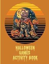 Halloween Games Activity Book For Kids