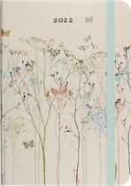 Peter Pauper - compacte agenda - 16 maanden 2021/ 2022 - buttterflies