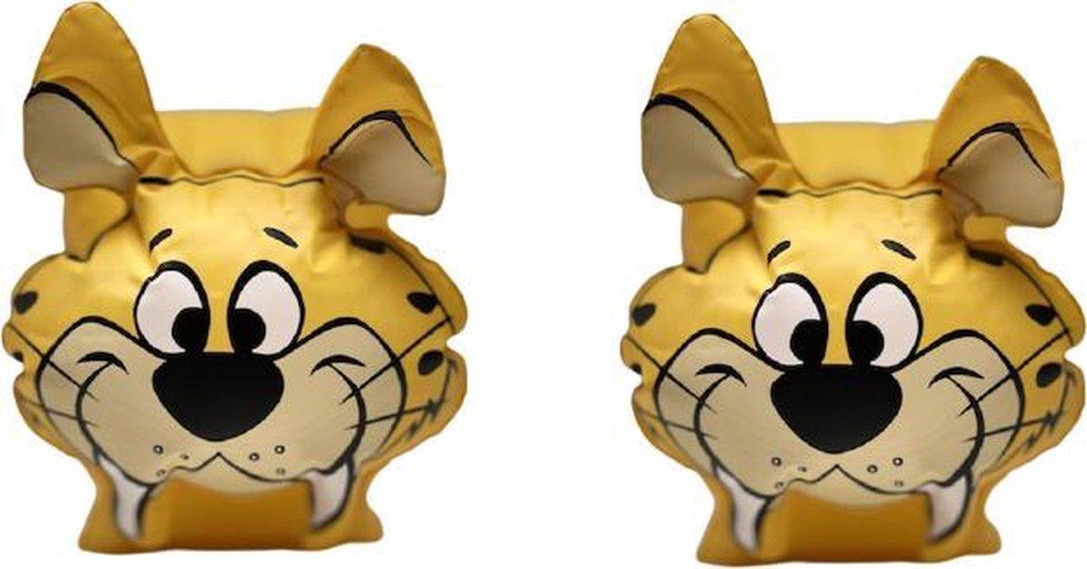 Bestway Zwembandjes Geel Tijger The Flintstones - 25 x 15 cm 6 t/m 12 jaar
