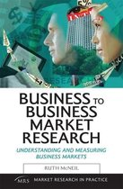 Business To Business Market Research