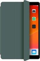 Apple iPad Air 1 & Air 2 - 9.7 inch (2013 & 2014) Hoes Groen - Tri Fold Tablet Case - Smart Cover