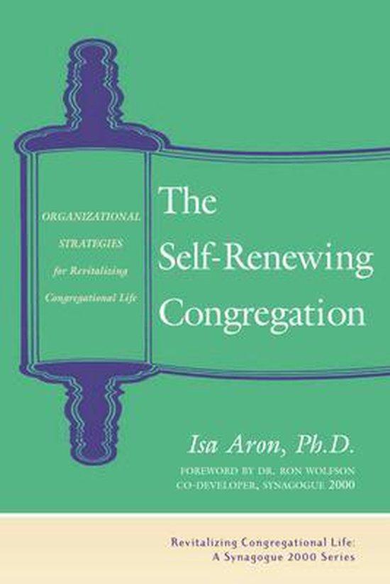Boek cover The Self-Renewing Congregation van Isa Aron, Phd (Hardcover)
