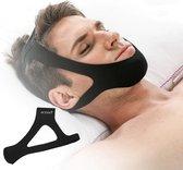 Zeer fijne en comfortabele Anti-Snurk Kinband, anti snurk band , hoofdband die goed blijft zitten, geeft nachtrust, uniseks, stopt snurken Snurk band