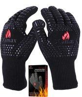 XAMAX® BBQ handschoenen - Ovenwanten - Hittebestendige handschoen - tot 500°C - Ovenhandschoenen