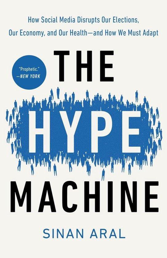 Boek cover The Hype Machine van Sinan Aral (Paperback)