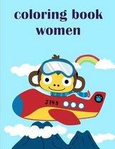 Coloring Book Women