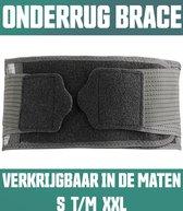 AVE® Rugbrace voor Rugpijn - Maat XL - Rugband - Onderrug Brace - Rug Houding - Hernia