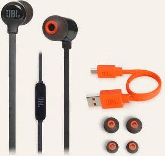 JBL T110BT - Draadloze in-ear oordopjes - Zwart