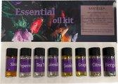 Etherische Oliën 8 stuks - 100% puur en natuurlijk - Geschikt voor Aroma diffuser- Essentiële olie set