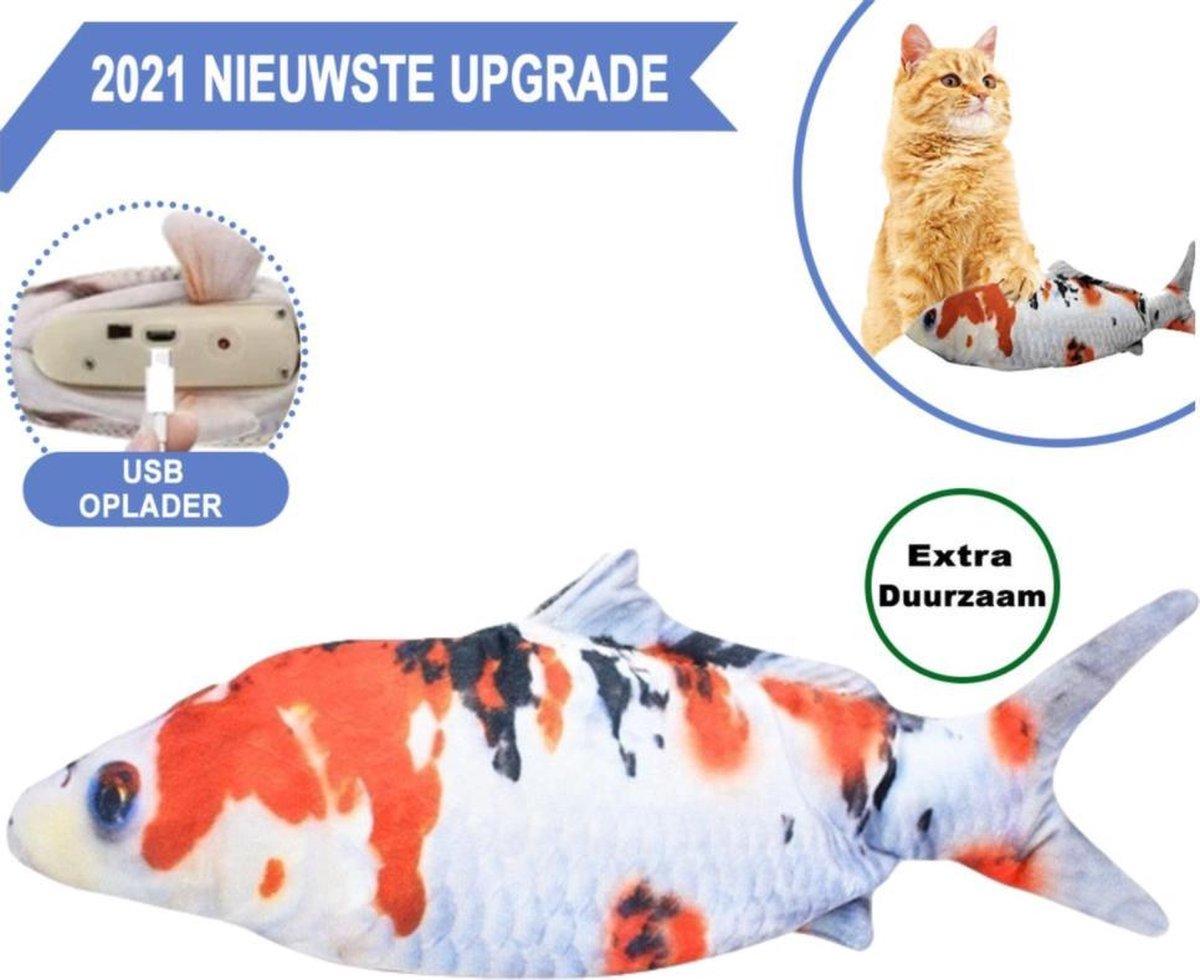 Elektronisch kattenspeeltje - Interactief - Kattenspeeltje - Elektrisch Kattenspeeltje - Speelvis ka